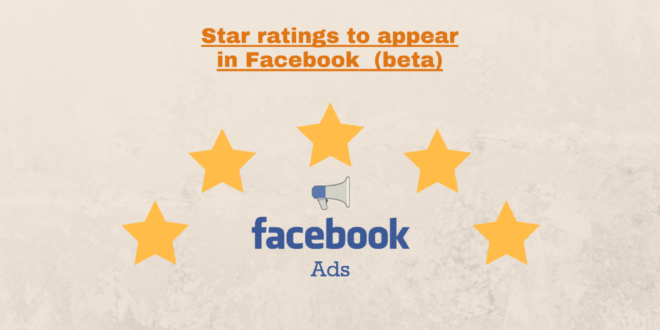 Star Ratings in Facebook Ads