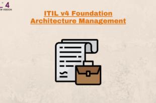Practice – Architecture management – ITILv4
