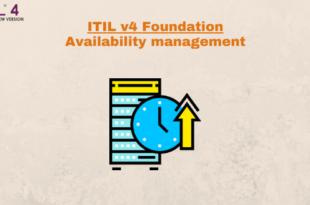 Practice – Availability management – ITILv4