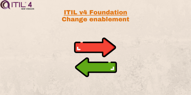 Practice – Change enablement – ITILv4