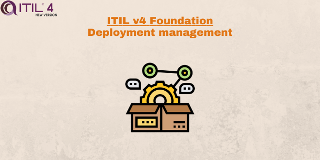 Practice – Deployment management – ITILv4