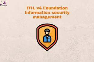 Practice – Information security management – ITILv4