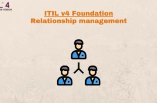 Practice – Relationship management – ITILv4