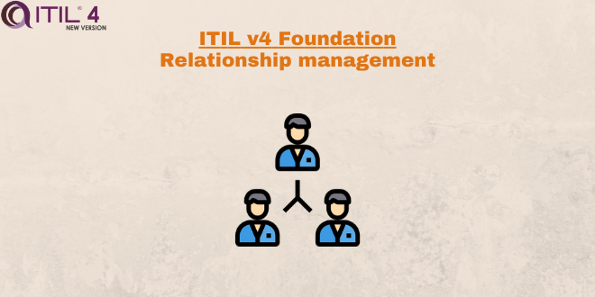 Practice – Relationship management – ITILv4