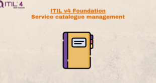 Practice – Service catalogue management – ITILv4