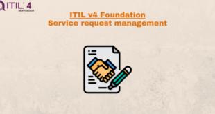 Practice – Service request management – ITILv4