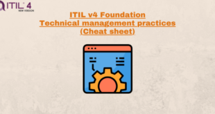 Technical Management Practices (cheatsheet) – ITILv4