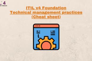 Technical Management Practices (cheatsheet) – ITILv4